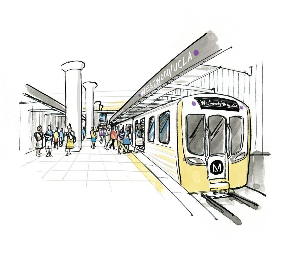 Westwood subway station