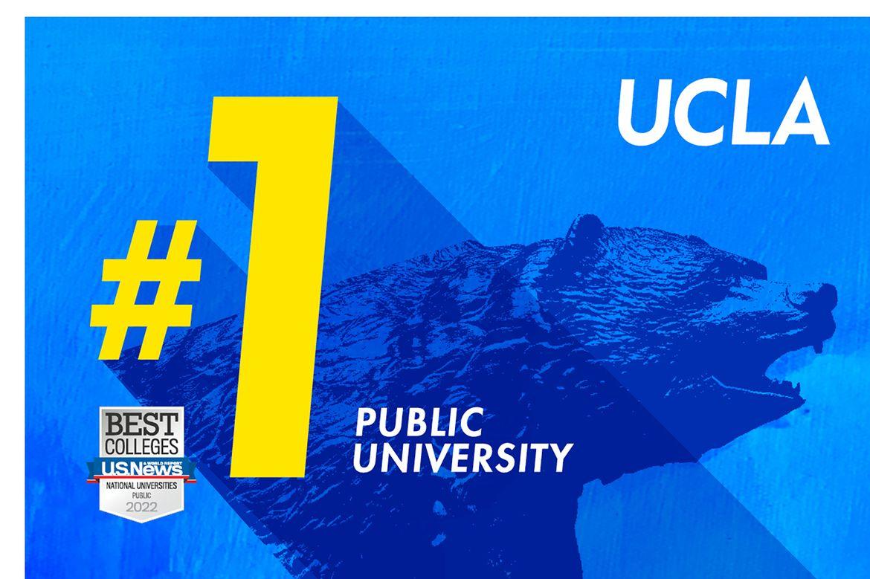 UCLA No 1 Bruin