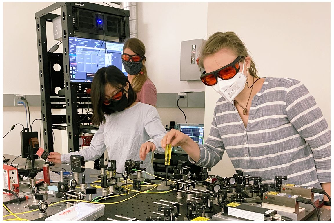 Quantum biology center personnel