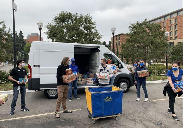 UCLA Volunteer Day 2020