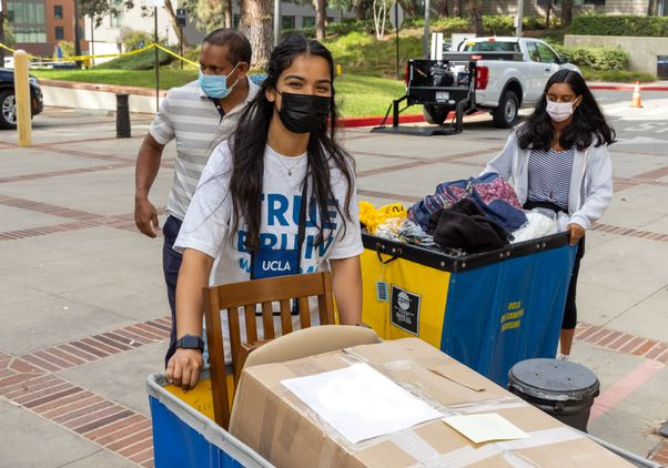 Click to open the large image: UCLA move-in 2021