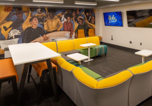 Click to open the large image: Black Bruin Resource Center mural