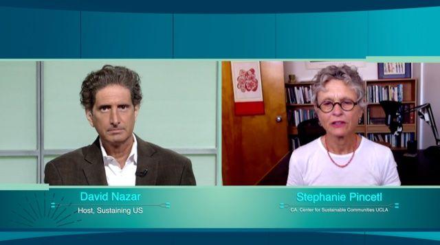 David Nazar and Stephanie Pincetl