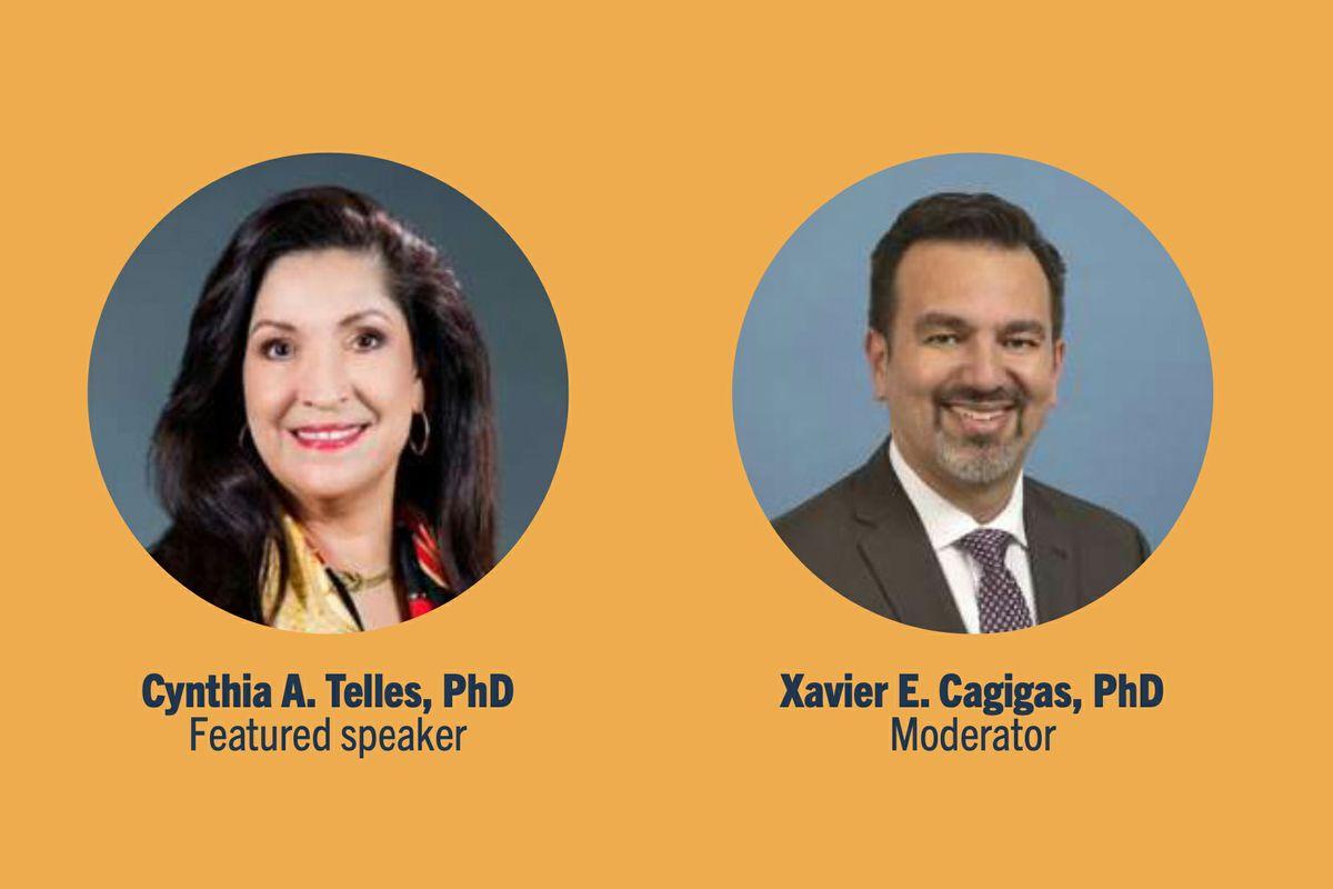 Cynthia Telles and Xavier Cagigas