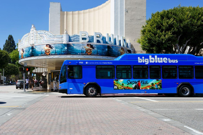 Santa Monica Big Blue Bus