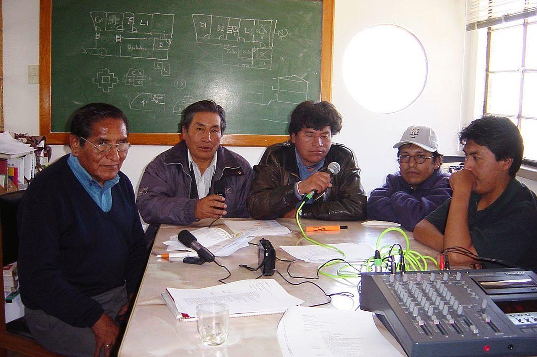 Instituto de Lengua y Cultura Aymara recording project