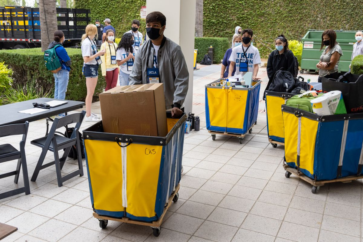 First day of UCLA fall 20201 move-in.