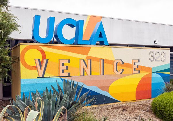 Click to open the large image: UCLA Venice dental clinic mural