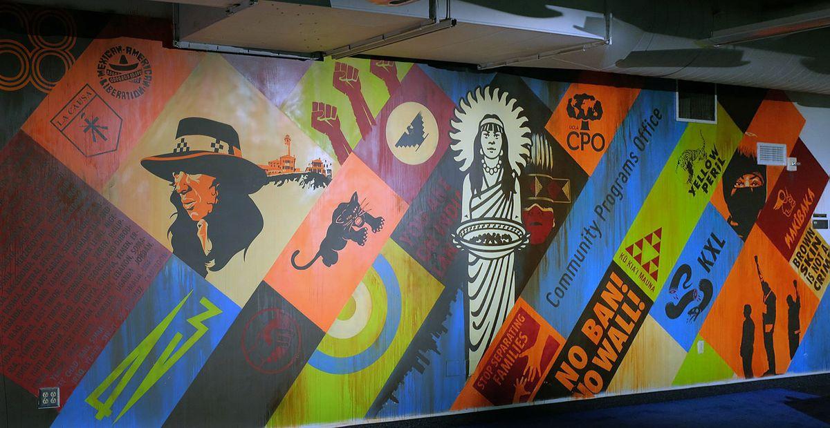 50 Years of Resistance mural