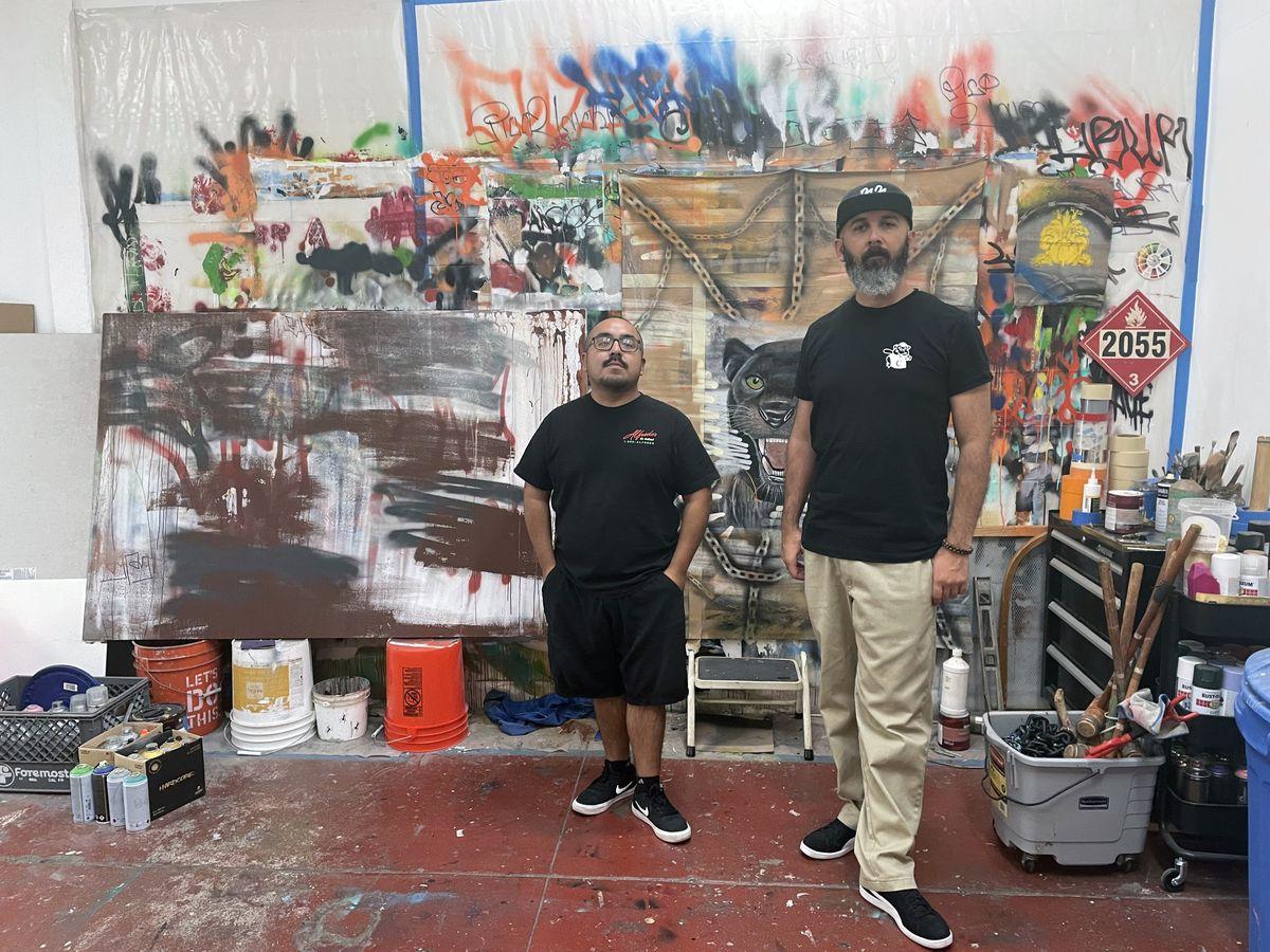 Alfredo Diaz and Oscar Magallanes