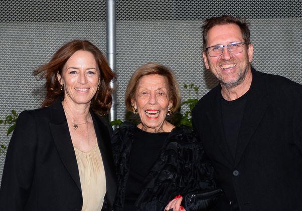 Sharon Johnston, Margo Leavin and Brett Steele