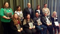 Recipients of Gerald W. May Outstanding Staff Awards Honored