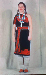 Acoma Embroidered Dress