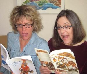 Poets Amy Beeder and Stefi Weisburd