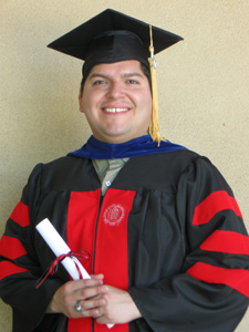 Eric Castillo, 2011 Mellon Fellow