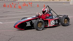 Formula FSAE car