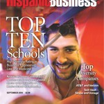 Hispanic Business Magazine Cover Sept. 2010