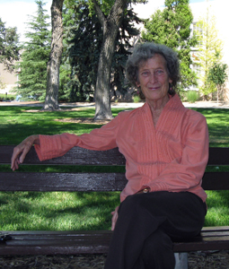 UNM Distinguished Professor of Anthropology Jane Lancaster