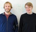 Mark Olah (l) and Oleg Semenov