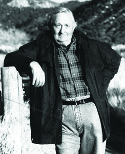 Tony Hillerman photo courtesy of Kelly Campbell