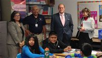Frank Visits Gallup Branch Campus and Zuni Pueblo