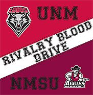 UNM-NMSU battle for your blood