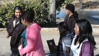 Field trip treats Native American students to a taste of college life