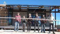 Open house for solar house set