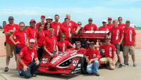 UNM's Formula SAE program ranked No. 5 in the country
