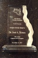 Rivera receives award for acequia work