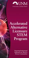 UNM College of Education implements Accelerated Alternative Licensure STEM Program