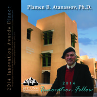 Atanassov to receive the 2014 STC.UNM Innovation Fellow Award