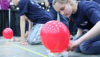Formula SAE students inspiring fifth graders to pursue engineering