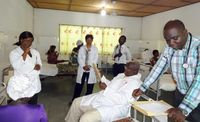 Students at UNM, Ghana work together to address health problems