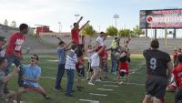 Lobo Football treated to Greek theater