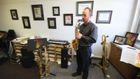 Lau teaches the sultry sounds of sax