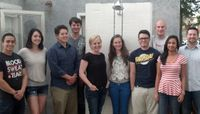 Senior design project showers experience on students