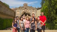 Exploring Italy through its gardens:  UNM students find inspiration in writing