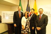 City, UNM and State unite to open first of its kind trade office in Mexico City