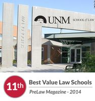 UNM School of Law ranked 11th among best value schools