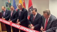 Mayor Berry, President Frank inaugurate New Mexico Trade and Higher Education Center of Mexico City