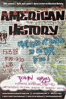 History Department's Horn lecture features John Gray
