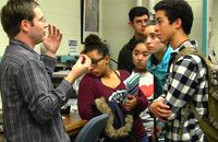 Physics & Astronomy hosts high school students for open house