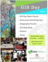 GIS Day celebration at UNM