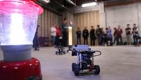 Turning tiny robots into student recruiters