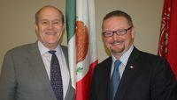 UNM honors outgoing Mexican Consul Mauricio Ibarra Ponce de León