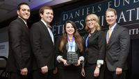 UNM Anderson School students take first place in ethics competition