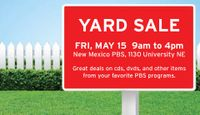 KNME-TV indoor yard sale set for May 15