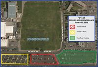 Parking changes for 'A' Lot permit holders due to repairs
