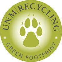 UNM Recycling sports jazzy, revised logo